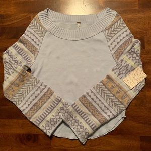 Free People Henley. NWT. Size Small.